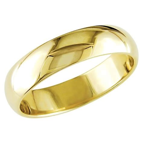 Wedding Bands At Target by S 10k Yellow Gold Wedding Band Target