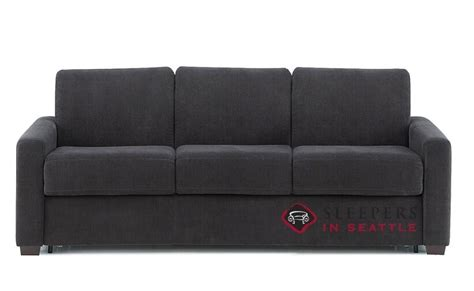 palliser my comfort customize and personalize roommate queen fabric sofa by