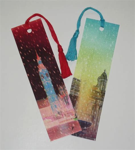 Design Handmade - handmade bookmarks minds4art