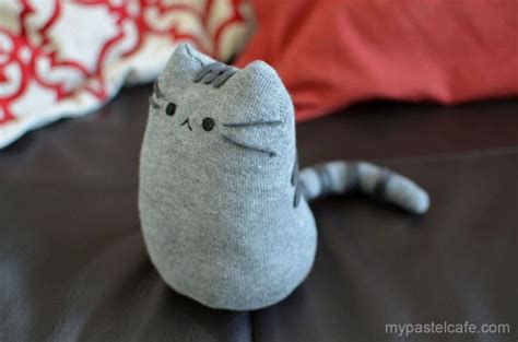 easy diy sock plush purrrrfect cat themed diy projects you need to try right meow pusheen plush and socks