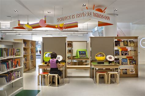 Colorful Interior by Children S Library Discovery Center Lhsa Dp