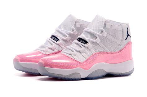 flower design jordans nike new jordans 2015 women jordan 11 white pink colorful