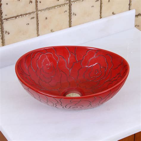 red bathroom sink bowl red bathroom sink bowl 28 images solar glass vessel