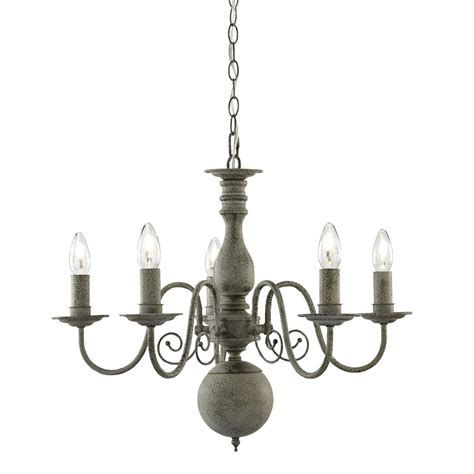 5 Light Ceiling Light by Greythorne 5 Light Ceiling Light Textured Grey