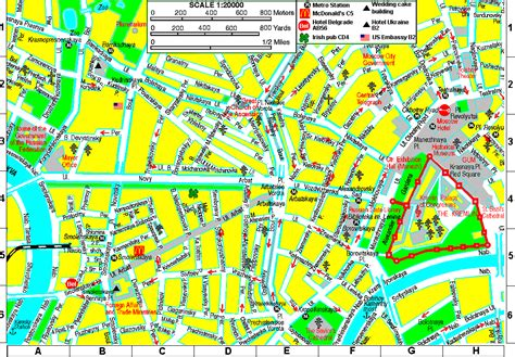 russia tourism map moscow map tourist attractions toursmaps
