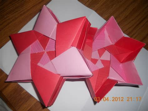 Origami Six Pointed - origami 6 pointed 183 an origami shape 183 decorating
