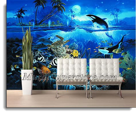 fish wall mural fish wall murals best free home design idea