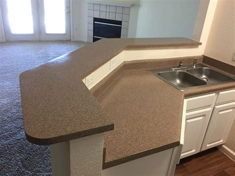 Kitchen Countertop With Built In Sink by Kitchen Countertop Resurfaced With Built In Sink Bathroom