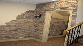 fake rock wall panels ideas about faux stone walls on