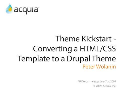 drupal theme kickstart theme kickstart