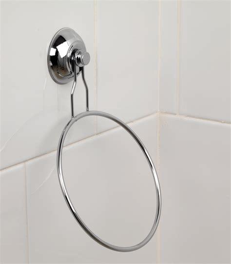 Suction Bathroom Accessories Beldray La036216 Suction Towel Ring Bathroom Accessories No1brands4you