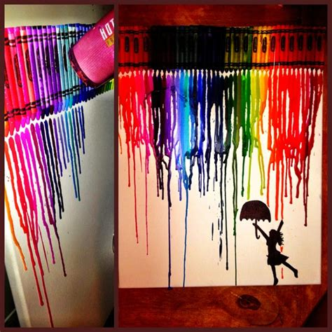 crayons designs charisma s melted crayon design d i yourself
