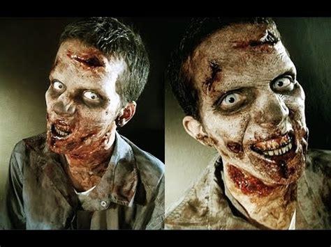 tutorial zombie the walking dead the walking dead zombie makeup tutorial youtube