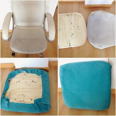 como tapizar una silla de escritorio diy tapizar una silla de ordenador paperblog