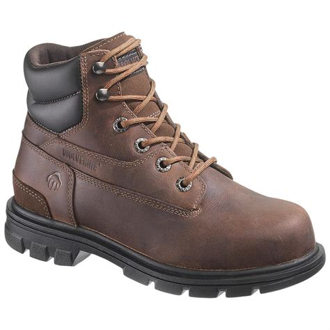 s wolverine 174 6 quot steel toe eh boots 220240