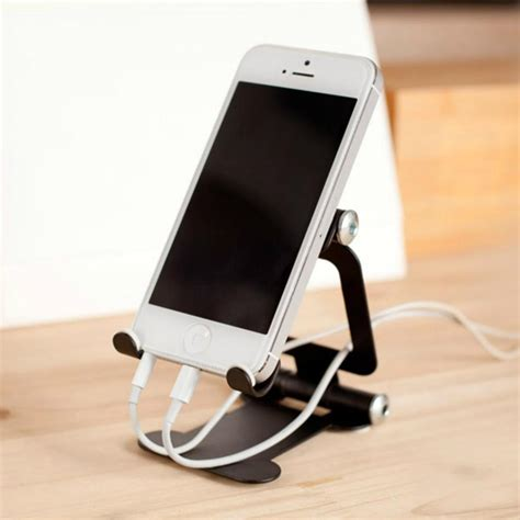 foldable cell phone desk stand holder car mount for tablet