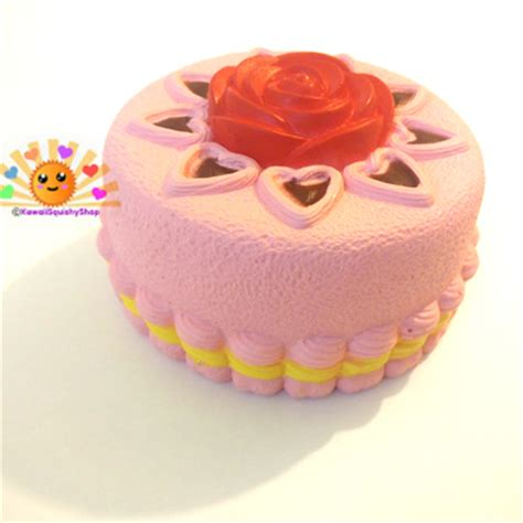 Kiibru Pink Slice Cake Squishy home 183 kawaii squishy shop 183 store powered by storenvy