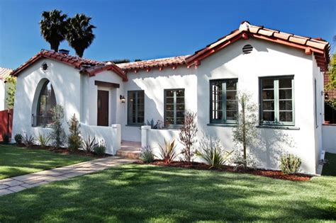 spanish bungalow beverly grove spanish style modop design