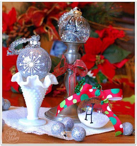 Pinterest Garden Craft Ideas - 3 homemade christmas ornaments tutorial