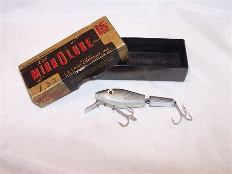 Fishing Ls by Ls Fishing Lure 15m18 Vintage Mirrolure W Box