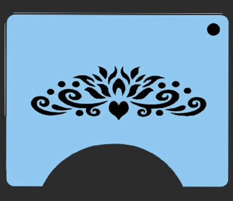 Princess Face Painting Stencil Stencil Templates For Painting