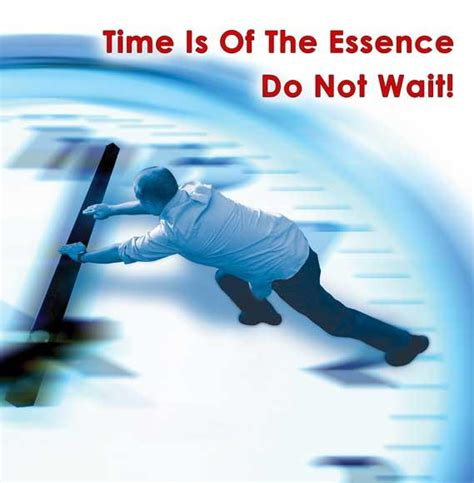 Time Is Of The Essence by Time Is Of The Essence From Tayloe Marketing Consulting