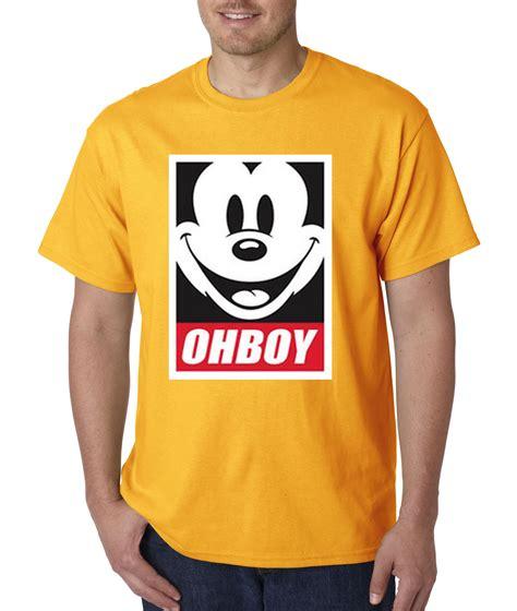 Tshirt Mickey Oh Boy new way 416 unisex t shirt oh boy mickey anonymous dope ebay