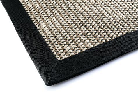 dekowe teppiche dekowe teppich brasil schwarz teppich sisalteppich bei