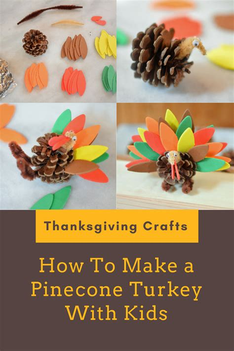 easy thanksgiving crafts for to make thanksgiving crafts for how to make a pinecone