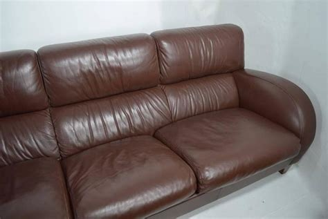 Large Leather Sofa Sale Large Leather Sofa By Poltrona Frau For Sale At 1stdibs