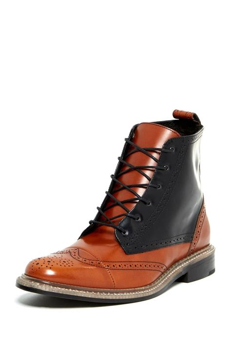nordstrom boots j d fisk nicholson wingtip lace up boot boots