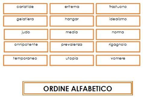 parole con 4 lettere insegnare l uso dizionario col metodo montessori