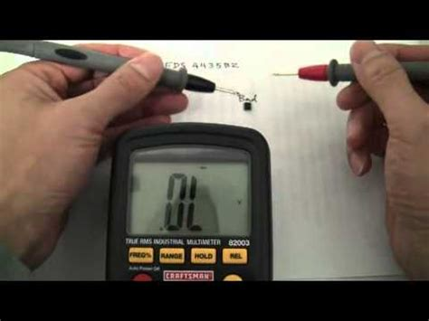 how to check laptop resistor how to fix computer hardware and software problems how to test mosfet capacitor diode resistor