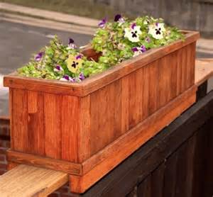 Deck Railing Flower Planters by 25 Beautiful Deck Railing Planters Ideas On
