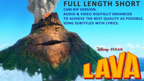 full version of short film lava lava disney pixar full length short film with lyrics