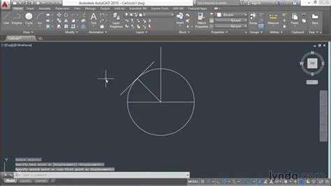 view printable area autocad drawing callout block geometry