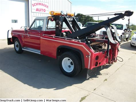 Jeep Tow Truck 100 1310 4hgn5s