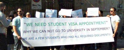 consolato iran iran niente visto per gli studenti ammessi nelle