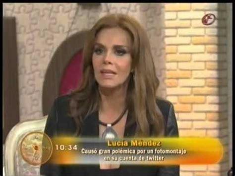 Lucia Mendez Meme - luc 205 a m 201 ndez habla de su viaje a europa en el programa hoy