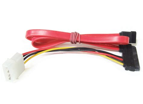 Kabel Sata 15 7 Pin To Data 0 5m 1 5ft Berkualitas 22 pin 15 7 4 pin molex serial ata sata data power cable