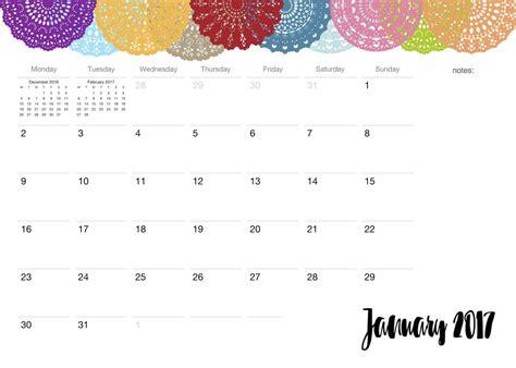desain kalender cantik hanya bermodal print kamu bisa dapatkan kalender 2017