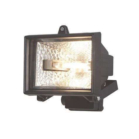 Outdoor Lighting Security Outdoor Security Floodlight 120w Black From Litecraft
