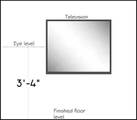 height to place tv on wall height to place tv on wall ultimate home decor guide