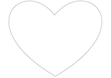 imagenes de corazones simples dibujo para colorear coraz 243 n simple img 10026