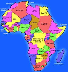 map of africa with country name viriditas newsletter may viriditas llc