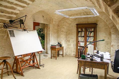 mediterranean stone accent wall mediterranean living 25 fabulous home offices that unleash mediterranean magic