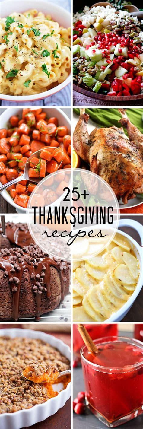 25 plus fabulous thanksgiving recipes let s dish recipes