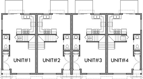 4 plex apartment floor plans main floor plan 2 for f 536 4 plex plans 2 story