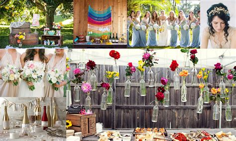 wedding themes and pictures top 5 color theme for spring wedding