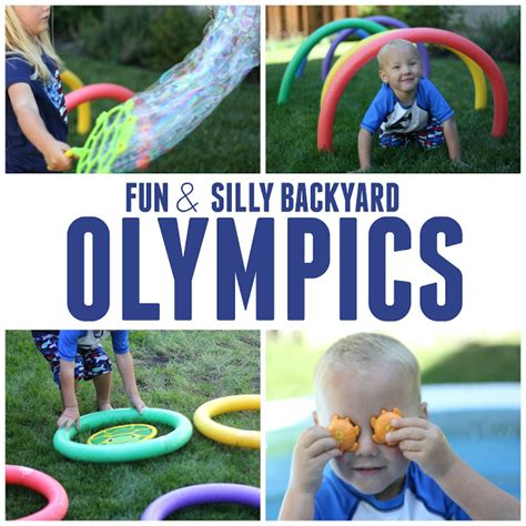 backyard olympic toddler approved 2 simple and silly backyard olympics